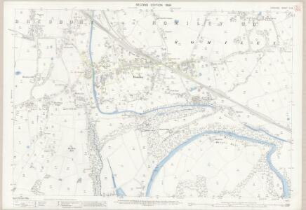 Cheshire XI.13 (includes: Bredbury and Romiley; Marple; Stockport) - 25 Inch Map