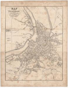 Map of the city of Limerick