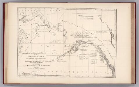 Facsimile:  Russian Map (Enclosure in Sir C. Bagot's Dispatch).