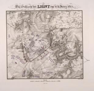 Die Schlacht bey Ligny am 16ten Juny 1815