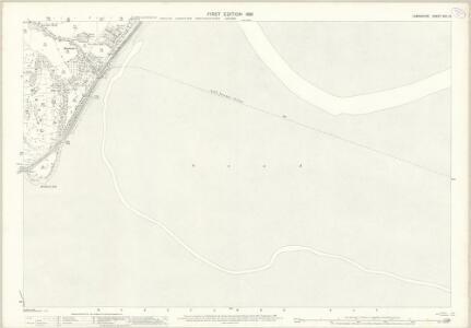 Lancashire XVII.12 (includes: Grange; Lower Allithwaite) - 25 Inch Map