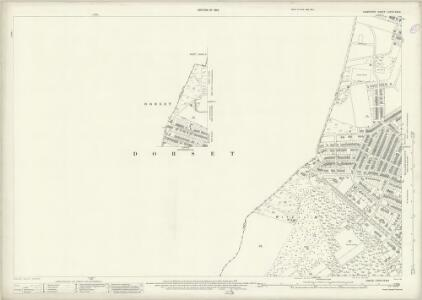 Hampshire and Isle of Wight LXXXV.8 & 4 (includes: Bournemouth; Poole) - 25 Inch Map