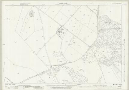 Wiltshire XLII.9 (includes: Everleigh; Manningford; Milton Lilbourne; Pewsey) - 25 Inch Map