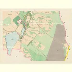 Kotzenitz (Kocenice) - c2540-1-003 - Kaiserpflichtexemplar der Landkarten des stabilen Katasters