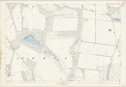 Norfolk XCIII.3 (includes: Lynford; Stanford; Sturston) - 25 Inch Map