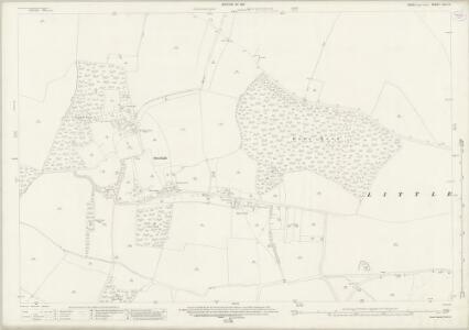 Essex (New Series 1913-) n VII.10 (includes: Littlebury; Strethall) - 25 Inch Map