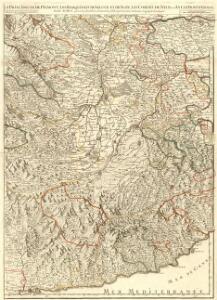 La Principauté de Piemont, Les Marquisats de Saluce et de Suze, les Comtés de Nice et d'Ast, le Montferrat &c
