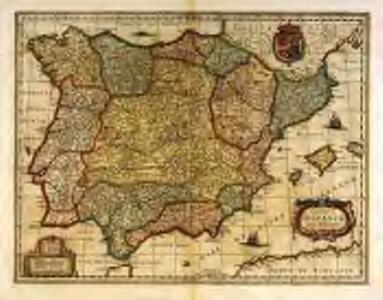 Regnorvm Hispaniæ nova descriptio