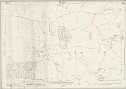 Essex (New Series 1913-) n XXIV.9 (includes: Broxted; Chickney; Henham) - 25 Inch Map