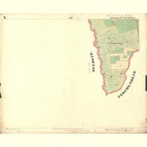 Passeken - c5642-1-014 - Kaiserpflichtexemplar der Landkarten des stabilen Katasters