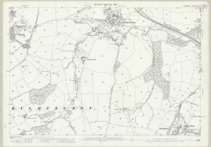 Somerset XXIX.7 (includes: Coleford; Kilmersdon) - 25 Inch Map