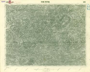 III. vojenské mapování 4262