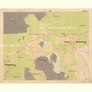 Glöckelberg - c9317-3-012 - Kaiserpflichtexemplar der Landkarten des stabilen Katasters