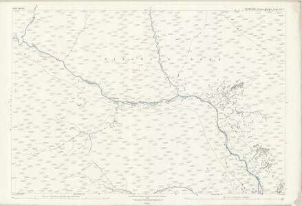 Derbyshire III.12 (includes: Hope Woodlands) - 25 Inch Map