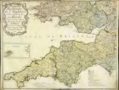 Provinces meridionales de l'Angleterre ou côtes septentrionales de la Manche, 1