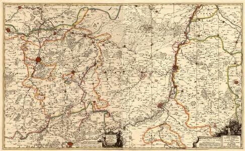 Carte Contenant le Duche de Limbourg et Partie du Dioecese de Liege dediée A Son Altesse Electorale de Baviere