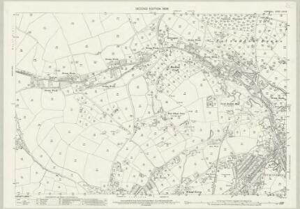 Cornwall LXIII.5 (includes: Camborne Redruth) - 25 Inch Map