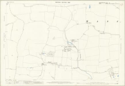 Hertfordshire XV.9 (includes: Albury; Farnham; Furneux Pelham; Manuden) - 25 Inch Map