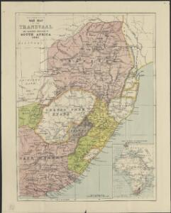 W. H. Smith & Son's War map of the Transvaal and adjoining countries in South Africa