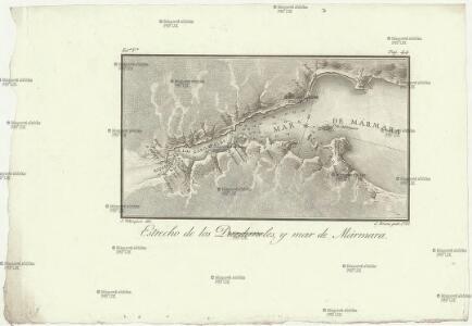 Estrecho de los Dardaneles, y mar de Mármara