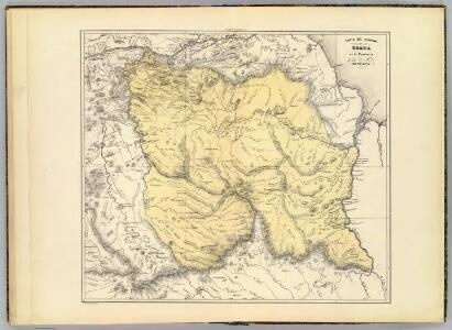 Carta del Canton de Upata, Provincia de Guayana.