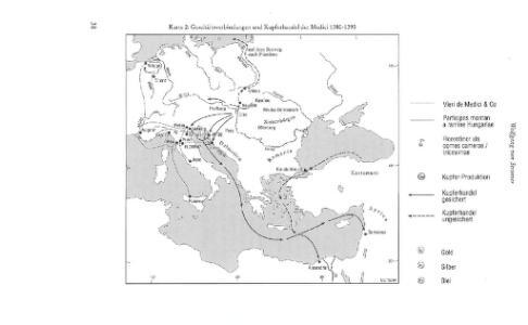 Geschäftsverbindungen und Kupferhandel der Medici 1393-1395