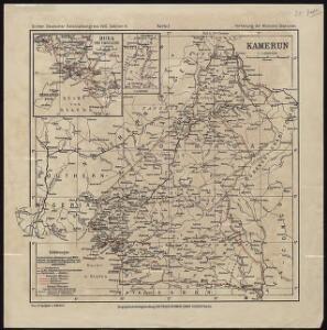 Dritter Deutscher Kolonialkongress 1910, Sektion IV, Karte 2