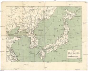 Bojiště rusko-japonské ve východní Asii