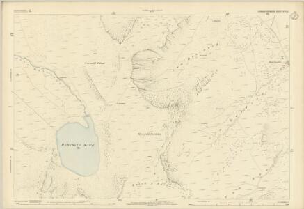 Caernarvonshire XVII.2 (includes: Llanberis; Llanddeiniolen; Llandygai; Llanllechid) - 25 Inch Map