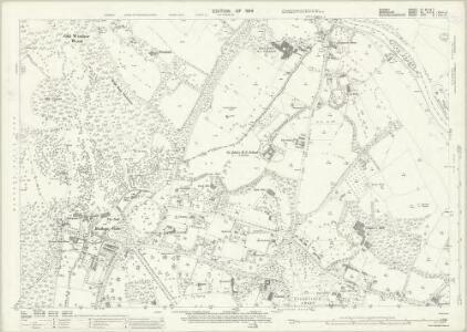 Surrey IV.8 & 4 & 7 (includes: Egham; Old Windsor; Wyrardisbury) - 25 Inch Map