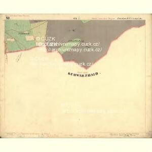 Passeken - c5642-1-016 - Kaiserpflichtexemplar der Landkarten des stabilen Katasters