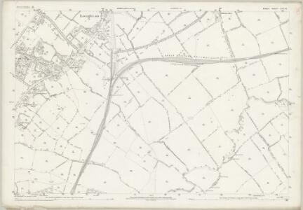 Essex (1st Ed/Rev 1862-96) LVII.16 (includes: Chigwell; Loughton) - 25 Inch Map