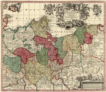 Marchionatus Brandenburgensis Ducatus Pomeraniae et Ducatus Macklenburgicus