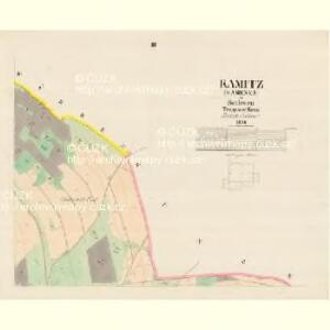 Kamitz (Kamenka) - m1142-1-003 - Kaiserpflichtexemplar der Landkarten des stabilen Katasters