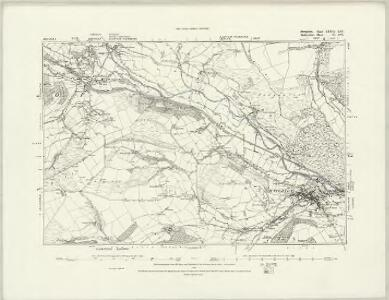 Radnorshire X.NE - OS Six-Inch Map