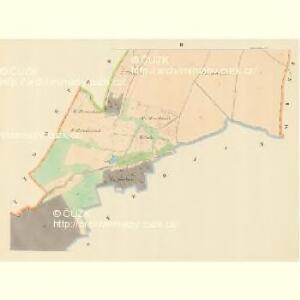 Weissöhlhütten (Biela Lhotta) - m0076-1-002 - Kaiserpflichtexemplar der Landkarten des stabilen Katasters