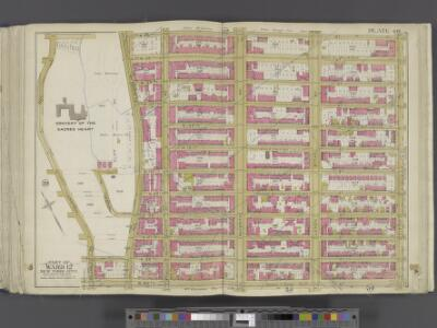 Manhattan, Double Page Plate No. 40 [Map bounded by W. 136th St., 5th Ave., W. 125th St., Convent Ave.]