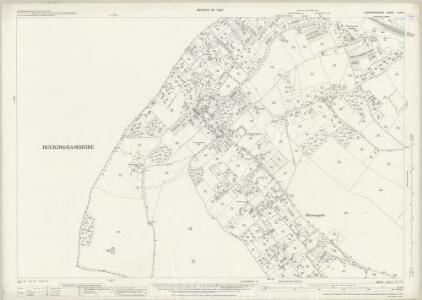 Hertfordshire XLIII.6 (includes: Chalfont St Giles; Chalfont St Peter; Chorleywood; Rickmansworth Urban) - 25 Inch Map