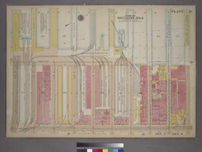 Plate 18, Part of Sections 3&4: [Bounded by (Hudson River Piers)Twelfth Avenue, W. 41st Street, Eleventh Avenue and W. 34th Street.