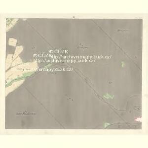 Oskau (Oskawa) - m2174-1-004 - Kaiserpflichtexemplar der Landkarten des stabilen Katasters