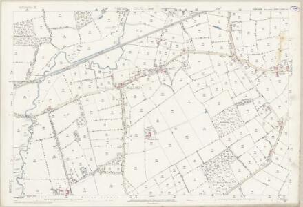Yorkshire CCVIII.10 (includes: Holme Upon Spalding Moor; Seaton Ross) - 25 Inch Map