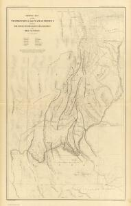 Sketch Map ... showing The Faults of the Grand Canon District.