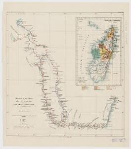Itinerari di due viaggi al Madagascar eseguiti dall'inge. E. Cortese nel 1887