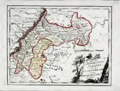 Die untere Markgrafschaft Baaden oder die Grafschaft Eberstein mit den Durlachischen Landen