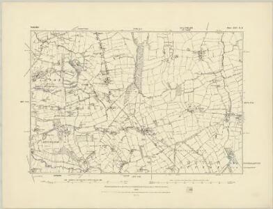 Derbyshire XXV.NW - OS Six-Inch Map