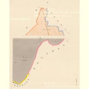 Hrobschitz (Robssicz) - c6486-1-001 - Kaiserpflichtexemplar der Landkarten des stabilen Katasters