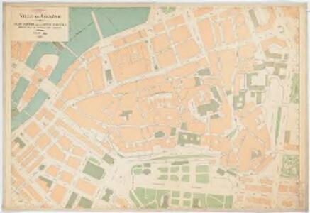 Ville de Genève : Plan partiel de la rive gauche
