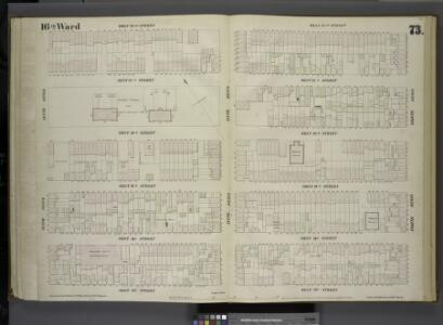 [Plate 73: Map bounded by West 22nd Street, Eighth Avenue, West 17th Street, Tenth Avenue.]