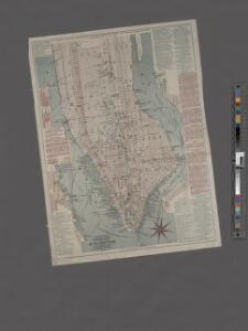 Citizens and Travelers' Guide map in, to, and from the City of New York and adjacent places.
