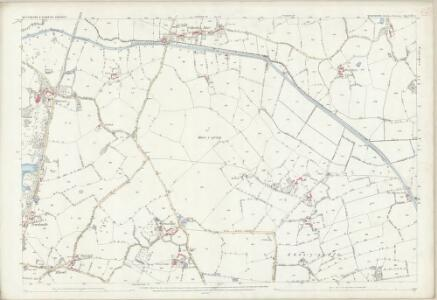 Shropshire XII.3 (includes: St Martins; Whittington) - 25 Inch Map